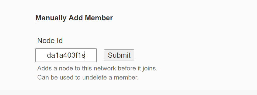 添加一个成员