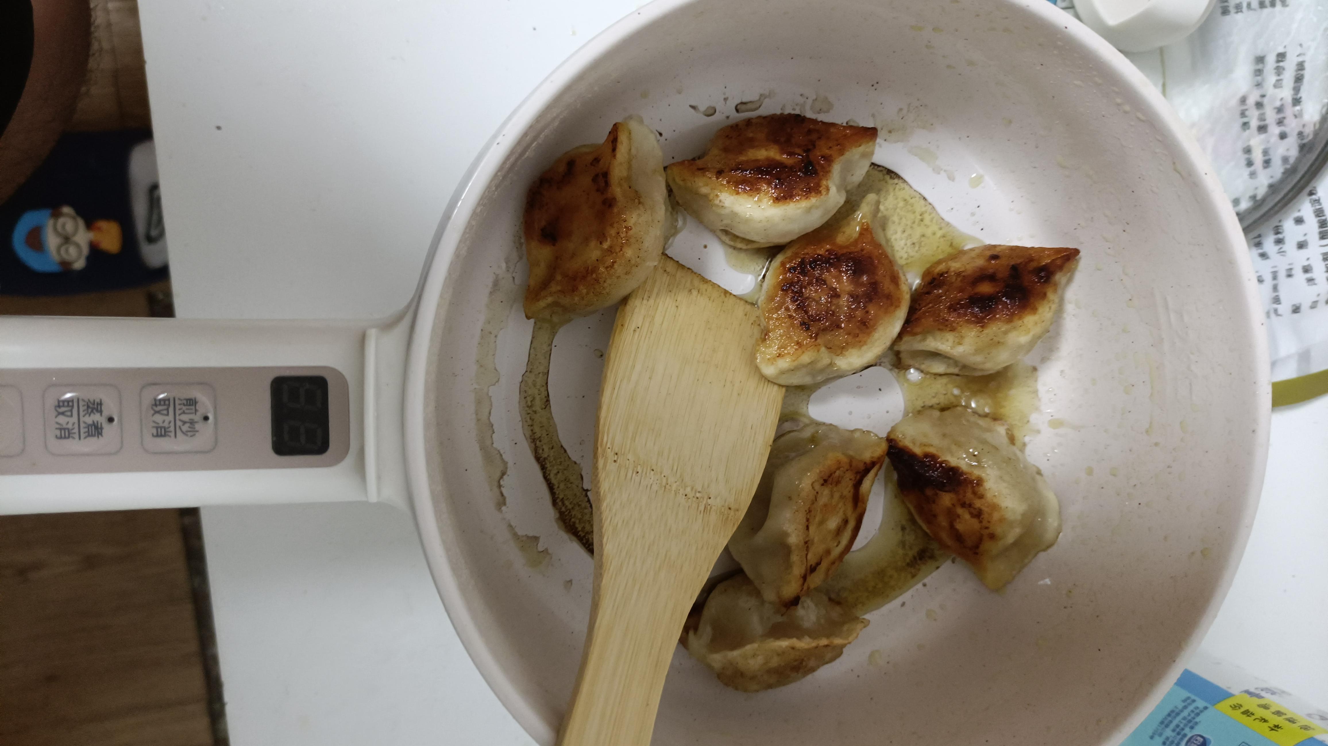 第一次煎饺